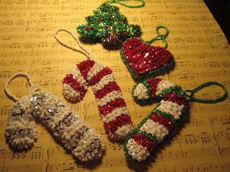 Beaded ornaments 006